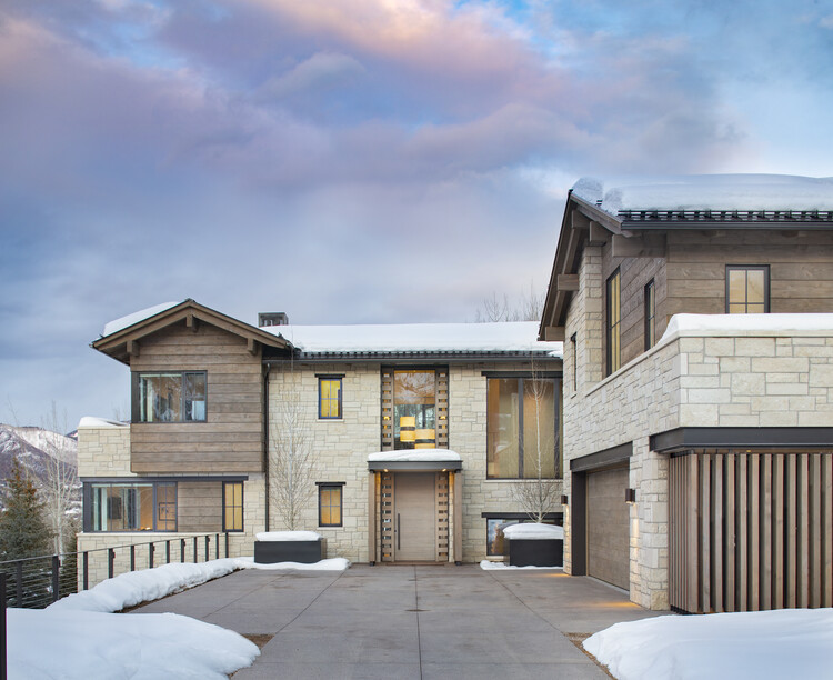 Mountain Retreat  / Rowland+Broughton Architecture, © Brent Moss Photography