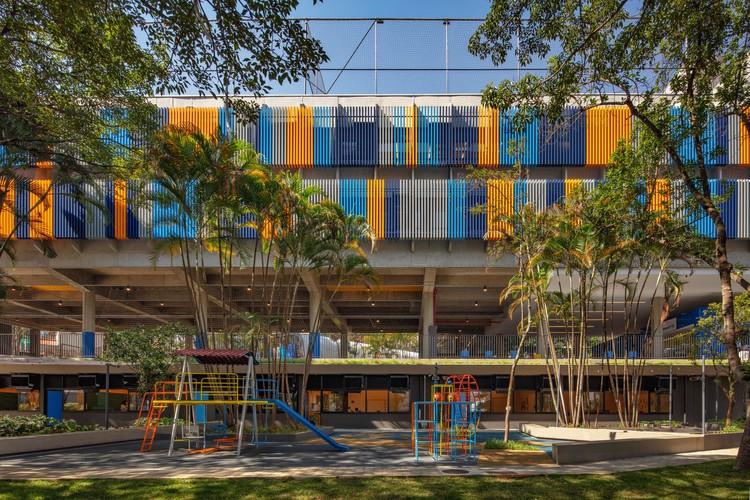 Colégio Etapa Vila Mascote / Biselli Katchborian Arquitetos, © Nelson Kon