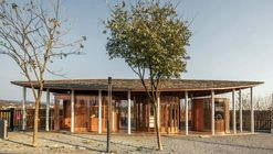 Service Center for the Wuxiang Nature School in Guoxing Village / Han Xiaofeng Design Studio, SEU-ARCH
