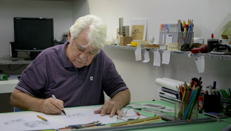 Falece Wandenkolk Tinoco aos 85 anos, Wandenkolk Tinoco. Image Cortesia de Bruno Firmino