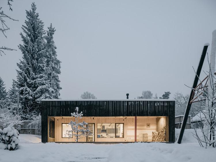 Casa de invitados Kavgolovo  / AB CHVOYA, © Grigoriy Sokolinsky