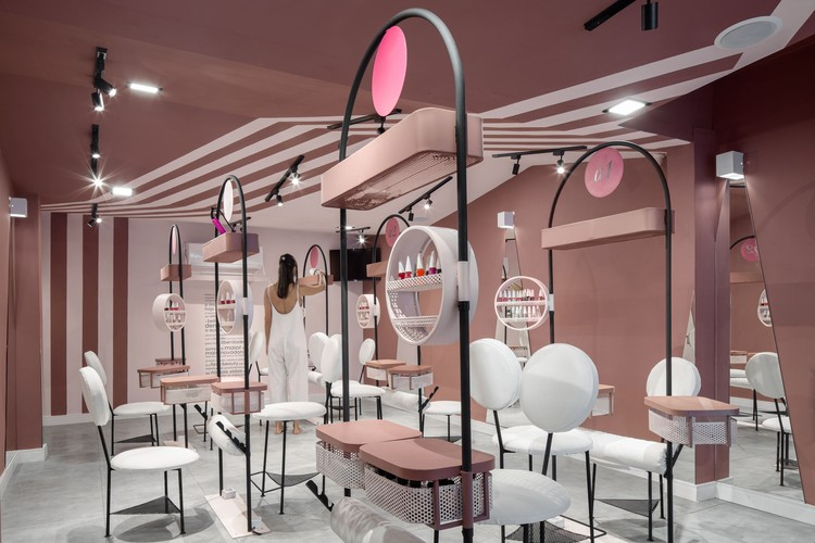 Belle.Club Beauty Salon / flipê arquitetura, © Carolina Lacaz