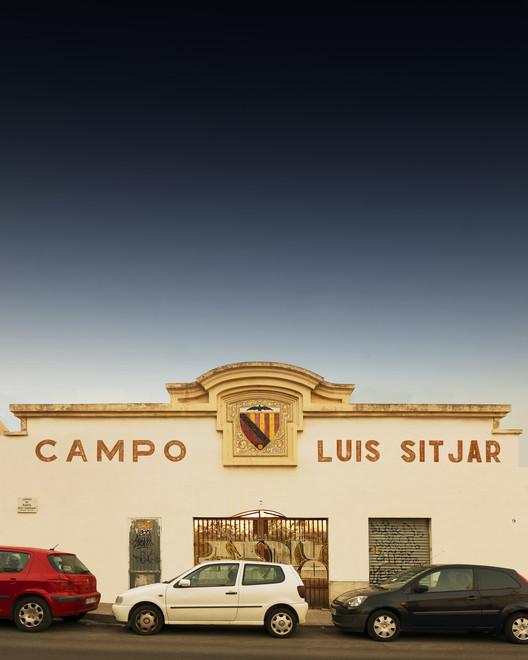 Футбольный стадион Луиса Ситьяра.  Изображение © Луис Борт