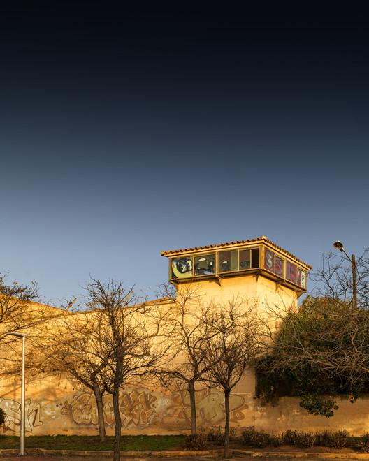 Старая тюрьма.  Изображение © Луис Борт