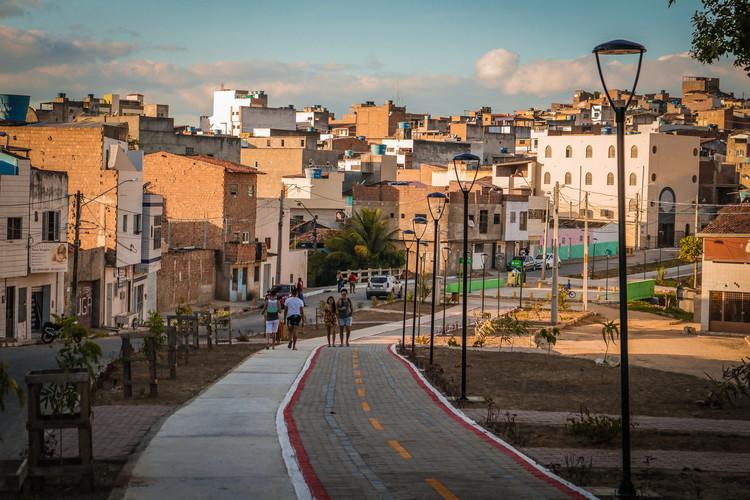 Fortaleza, Caruaru e Conde vencem o primeiro Prêmio Cidade Caminhável, Projeto Via Parque. Imagem © Prefeitura de Caruaru, PE
