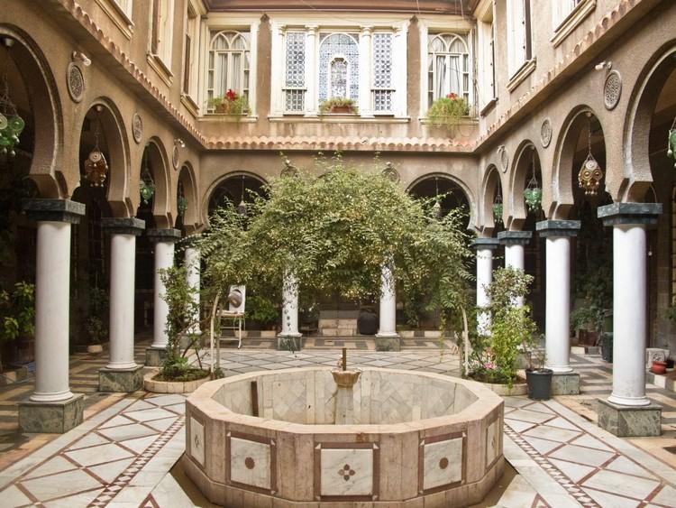 Sofisticadas, privadas y pasivas: casas tradicionales con patio y sus características arquitectónicas atemporales, Beit Rumman Hotel, Damascus. Image via Tumblr Account syrian-courtyard
