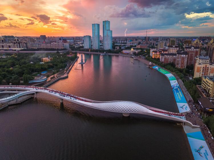 Puente Atyrau / New Moon Architects, © Евгений Ткаченко