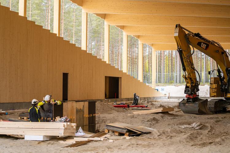 BIG avanza en la construcción de la fábrica de muebles de Vestre, Courtesy of Vestre