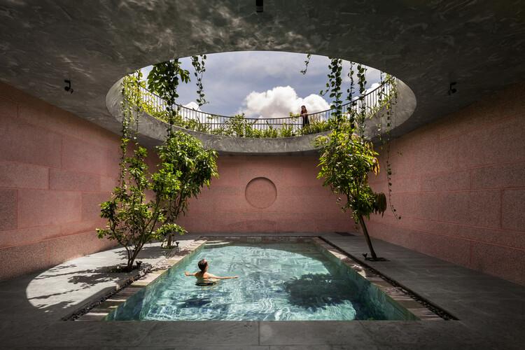 Casa rosada / 23o5Studio, © Hiroyuki Oki, Hoàng Lê
