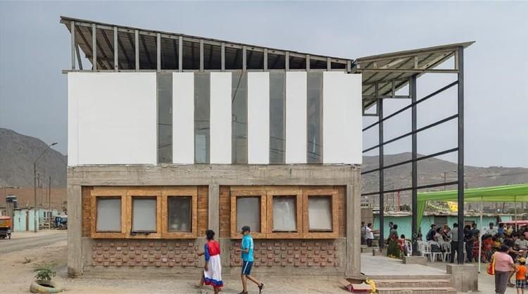 Proyecto Fitekantropus y Casa de la Memoria Nuevo Amanecer, ganadores del Premio de Arquitectura para el Desarrollo en Lima 2021, Casa de la memoria viva de Nuevo Amanecer. Image vía BIALIMA 2021