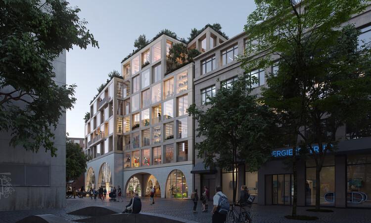 EFFEKT gewinnt Wettbewerb zur Neugestaltung der deutschen Zeitungszentrale mit freundlicher Genehmigung von EFFEKT