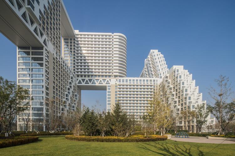 Safdie Architects retoma os conceitos do Habitat 67 em três novos projetos, Cortesia de Safdie Architects