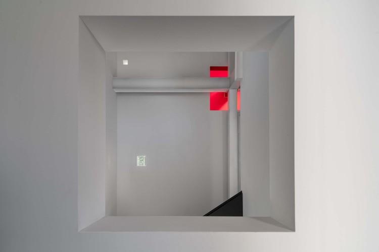 three-story cloister. Image © Jing Guo