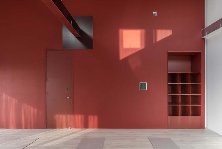 three-story classroom. Image © Jing Guo
