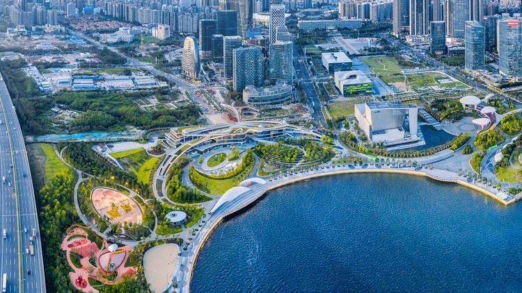 West Waterfront Retail Park and Waterfront Cultural Park. Image © Yanlong Tong