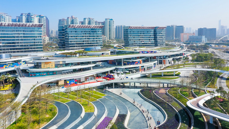 East Waterfront Retail Park and Urban Business Center. Image © Yanlong Tong
