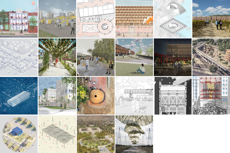 22 Ganadores del Concurso Nacional de Proyectos de Pregrado y Título CNPP + CNPT 2021, 22 Ganadores CNPP + CNPT 2021. Image Cortesía de Arquitectura Caliente