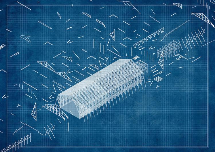 DES-ARMAR: Rescate patrimonial a partir de un sistema de piezas y componentes en Chile, Gran Ganador del CNPT 2021, DES-ARMAR: El Proyecto Gran Ganador del Concurso Nacional de Proyectos de Título 2021. Image Cortesía de Arquitectura Caliente