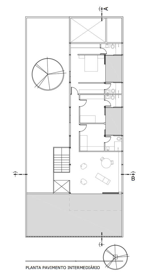 План промежуточного этажа