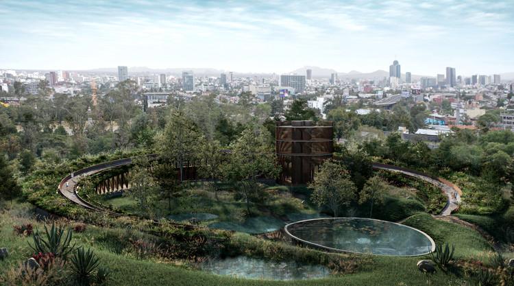 VERTEBRAL: proyectos en proceso que conjugan arquitectura y paisaje en México, Centro de Cultura Ambiental Chapultepec. Image © VERTEBRAL