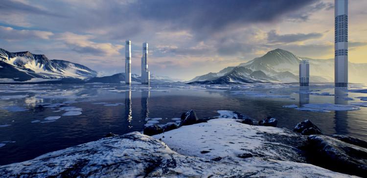 """Sobre la cuarta ola de urbanización en el Ártico: """"Escenarios de crecimiento post-fósil para las ciudades Árticas"""", © Rosa Pintos Hanhausen"""