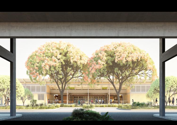 Adjaye Associates desenvolve projeto replicável de hospital para Gana, Cortesia de Adjaye Associates