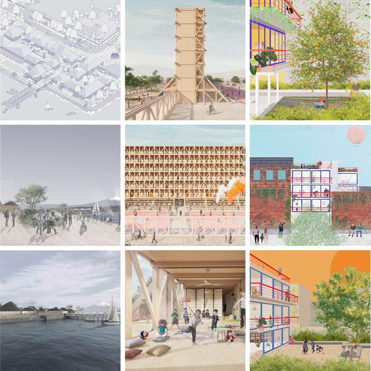 3 Proyectos ganadores del Concurso Nacional de Proyectos de Pregrado CNPP 2021, Cortesía de Arquitectura Caliente