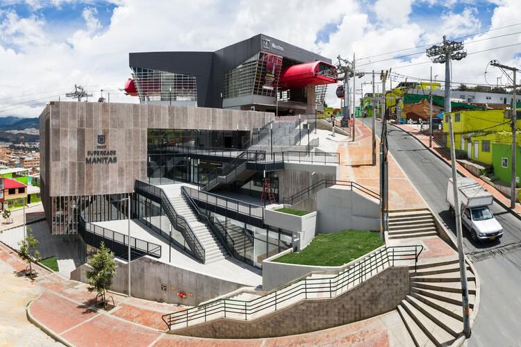 Equipamiento SuperCADE Manitas / aRE - Arquitectura en Estudio, © Llano Fotografía