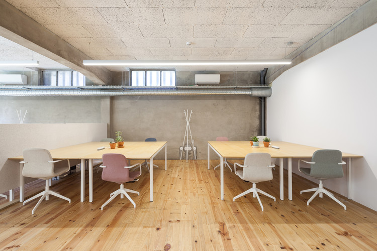 Cómo diseñar una acústica efectiva en muros, pisos y techos, Armazem Cowork / oitoo. Image © Ricardo Loureiro