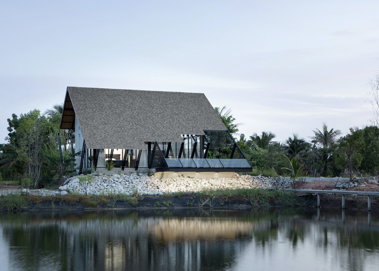 Casa backyard / TOUCH Architect, © Anan Naruphantawat