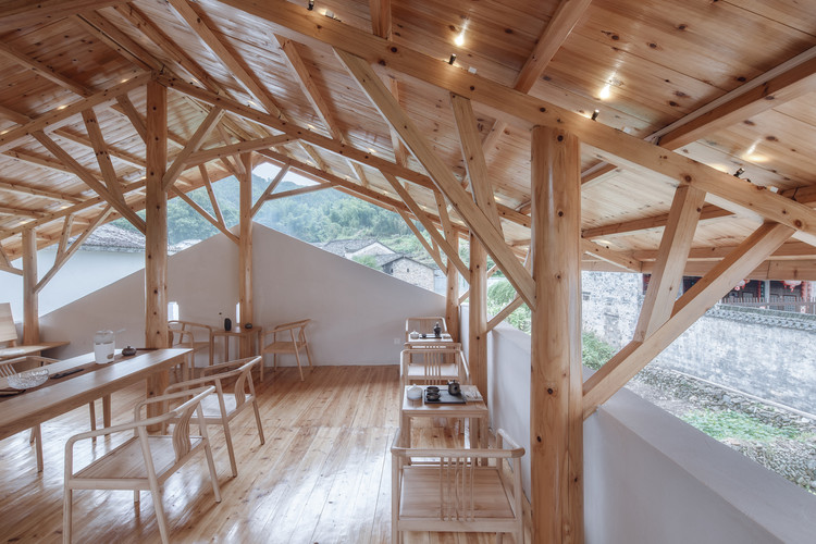 Qimen Black Tea House / Atelier Lai. Image © Xuguo Tang