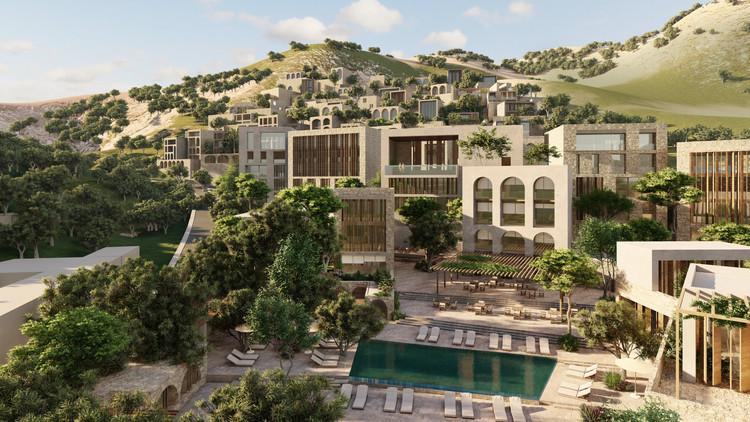 Oppenheim Architecture Reveals Luxury Hotel & Residences on Albanian Coast , Courtesy of Oppenheim Architecture