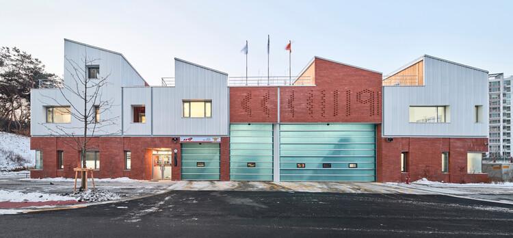 Gangil 119 Fire Station / OA-Lab, © Jinbo Choi