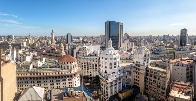 """""""Fondo de Desarrollo Urbano Sostenible"""": Ingresa a la Legislatura Porteña un proyecto de ley para transformar el microcentro y la zona sur de Buenos Aires, Imagen de Diego Grandi. Image vía Shutterstock"""