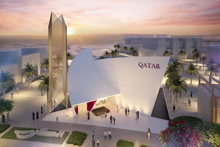 Santiago Calatrava divulga projeto para o Pavilhão do Qatar na Expo 2020 Dubai, Cortesia de Calatrava