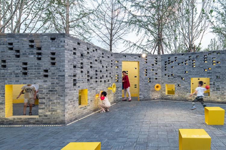 Micro Parque Comunidade de Songzhuang / Crossboundaries, © Yu Bai