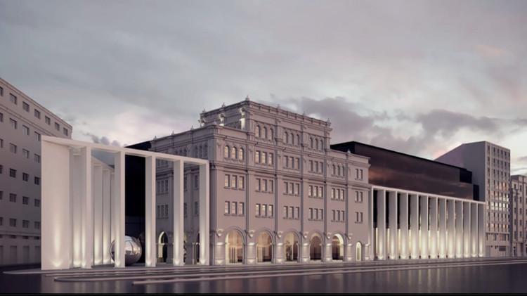 Edificio Zepita, ganador general del Concurso Calidad Arquitectónica BIALIMA 2021, Edificio Zepita, Proyecto Bicentenario. Image vía BIALIMA 2021