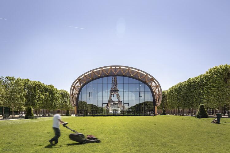 Paris constrói estrutura efêmera enquanto o Grand Palais passa por reformas, © Jad Sylla Photography