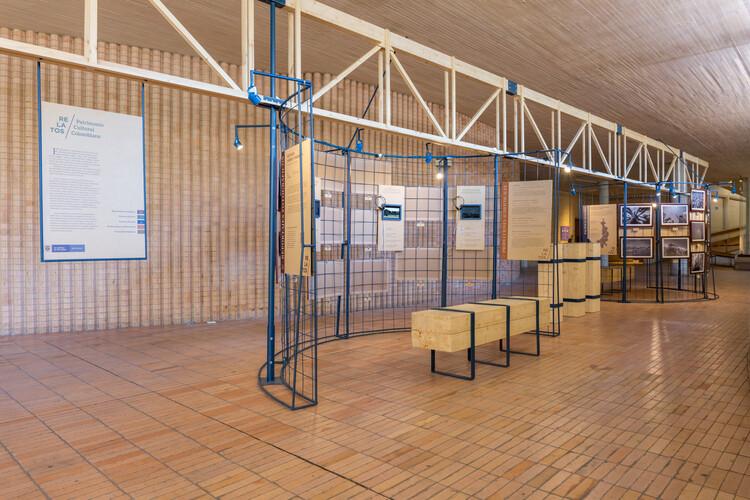 Exposición relatos del patrimonio / Yemail Arquitectura , © Sebastián Cruz