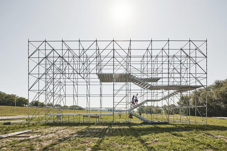 Arquitectura temporal: innovación y entretenimiento, Sava Installation / Openact Architecture + Sara Palomar Studio. Image © Marko Mihaljević. Image