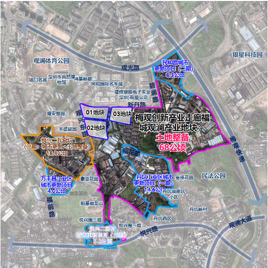 Project Land Location