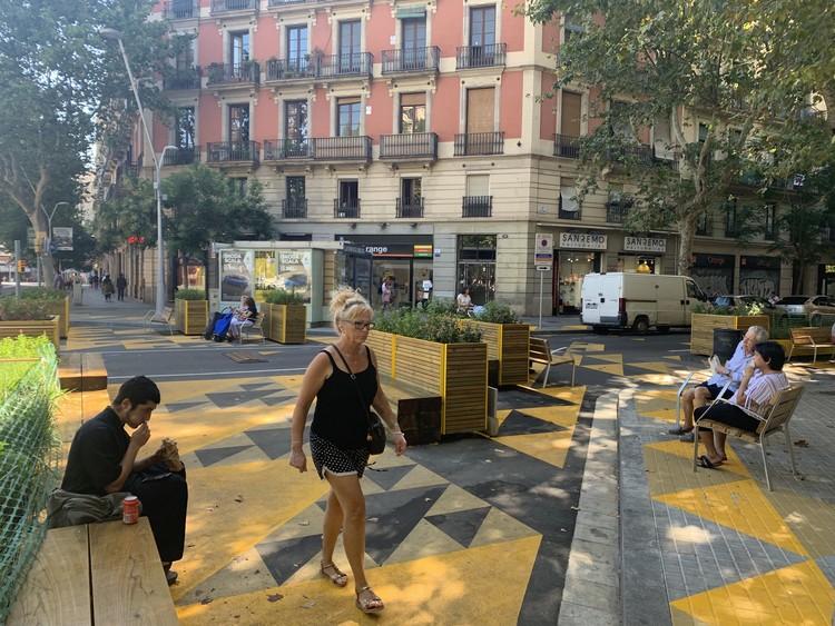 """Los procesos participativos y la resistencia al cambio: Implementación de las """"supermanzanas"""" en Barcelona, Cortesía de CityMakers Barcelona"""