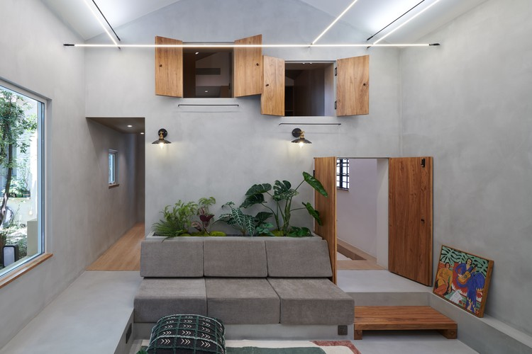 Szene des Wohnzimmers.  Bild © Hao Chen