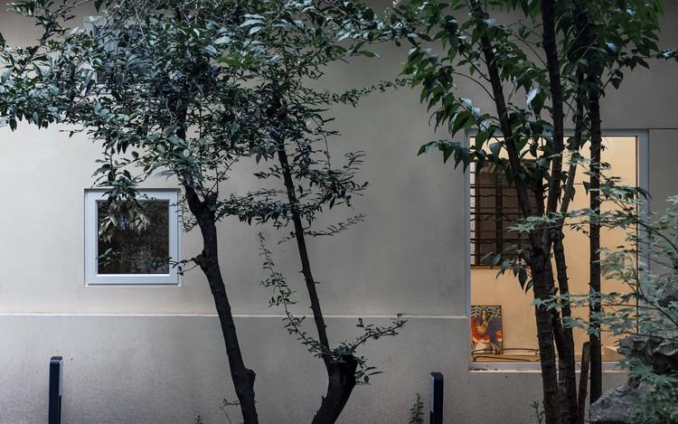 Nach Westen ausgerichteter Außenbereich.  Bild © Song Sun