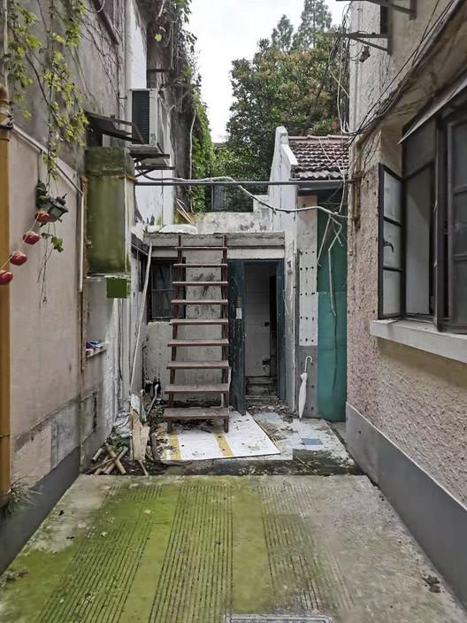Der verbleibende Platz für den Wiederaufbau.  Bild mit freundlicher Genehmigung von Greyspace Architecture Design Studio