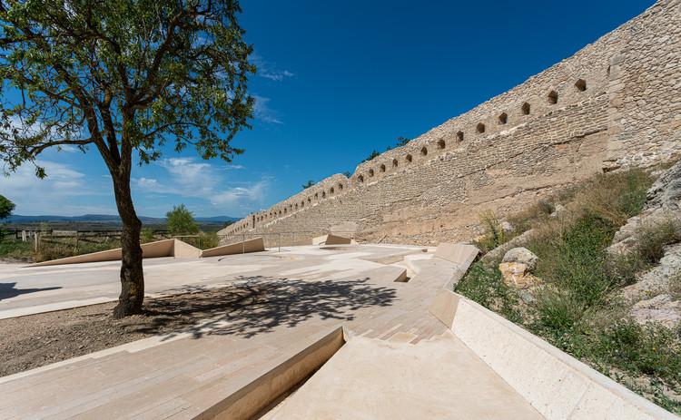 Consolidación y restauración en el castillo de Morella / Carquero Arquitectura, © Joan Roig