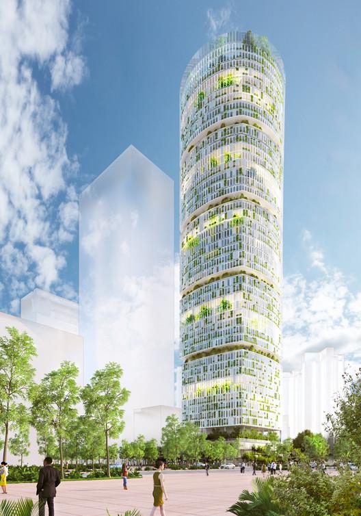 Carlo Ratti Associati revela o primeiro 'arranha-céu fazenda' do mundo em Shenzhen, Cortesia de CRA - Carlo Ratti Associati