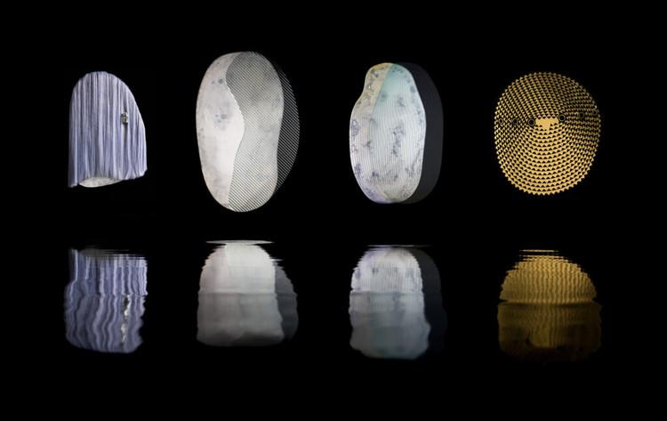 Трансформация зеркал Weaver из серии Ode to Waratah, 2020, Эллиат Рич.  Фото: Джеймс Морган.  .  Изображение предоставлено Национальной галереей Виктории.