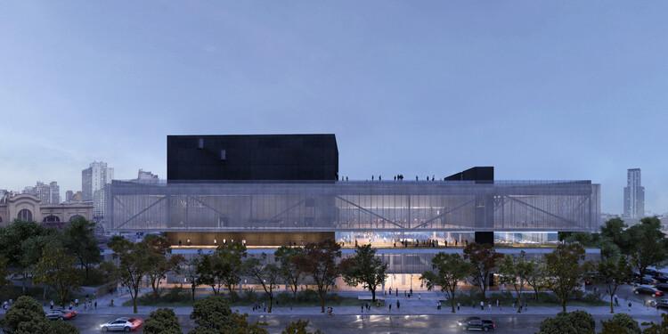 Projeto para o Sesc Parque Dom Pedro II vence em 3 categorias do Prêmio Saint-Gobain AsBEA de Arquitetura, Fachada Sul. Image Cortesia de UNA Barbara e Valentim