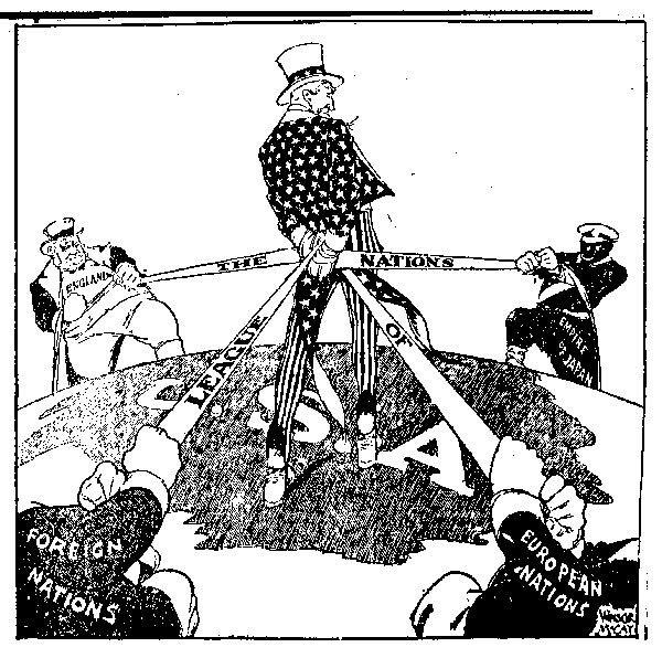 «Почему провалилась Лига Наций?»  История в сети.  Изображение © 2000-2021, Салем Медиа.
